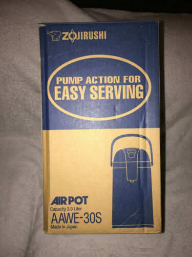 ZOJIRUSHI Air Pot Stainless AAWE30S 3L