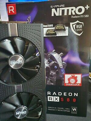 Radeon RX580 Sapphire Nitro +  8GB