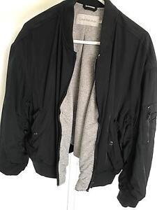 Selling Calvin Klein Black Bomber Jacket Size M Jindalee Brisbane South West Preview