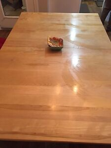 NEW Solid Maple Table