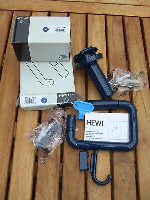 HEWI WC Rollenhalter-Diebstahlsch Ersatzrollenhalter. KL-Haken blau Nr. 50  NEU