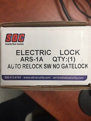 Sdc Ars-1a Electric Locksecurity Door Controls Ars-1a Auto Relock Switch Gate L