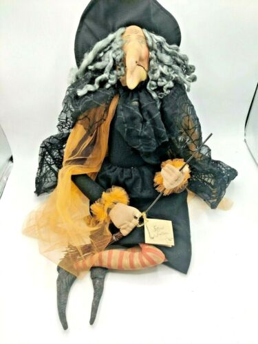 """Joe Spencer Gathered Traditions """"Gerty"""" Witch (CT)"""