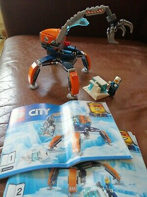 Lego City 60192 Arctic Ice Crawler. All Pieces and Instructions. No Box.