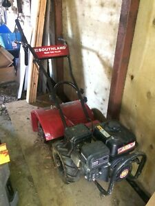 Southland Rear Tine Tiller - Self Propelled - NEW Condition