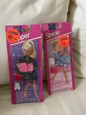 fits Stacie und Skipper NRFB 1993 (Barbie-outfits)