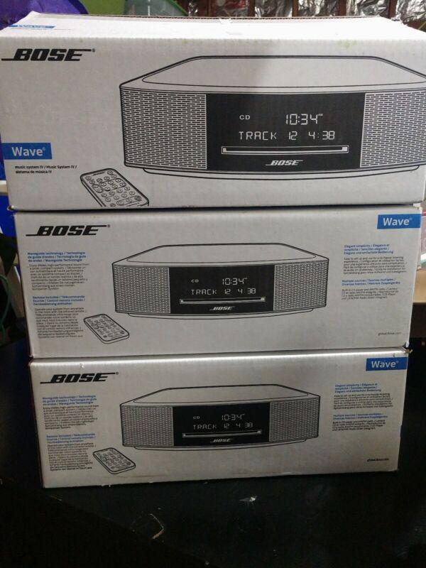 Bose Wave Music System IV New! Sealed