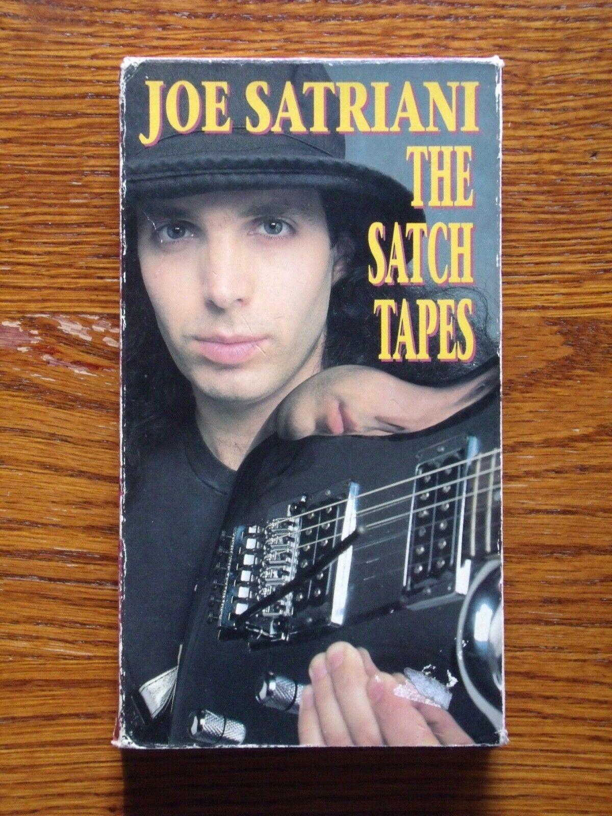 Joe Satriani The Satch Tapes VHS - $0.99