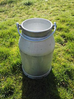 DDR Milchkanne 20l Aluminium Kanne mit Deckel
