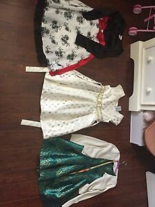 Girl clothes and shoes/ cleats size 6-8