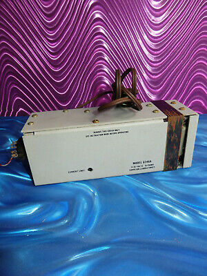 Harrison Laboratories Model 6346a Power Supply 0-36 Volts 0-150 Ma