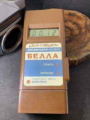 Bella Dosimeter Radiometer Geiger Counter Radiation Detector Pripyat Terra 1907