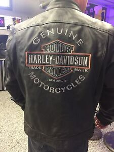 New XL leather Harley Davidson jackets