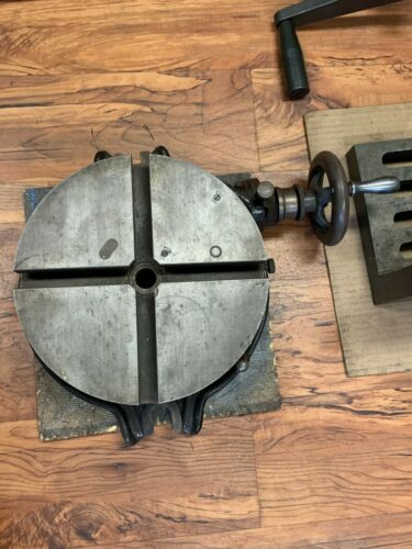 Brown & Sharpe Horizontal Precision Rotary Table - Item 1073