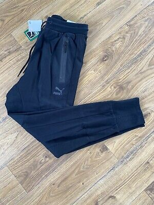 Men's Black PUMA Evo Sweat Pant, Large, BNWT