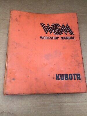 Kubota Tractor B8200 Front Loader Bf300 Workshop Servicerepair Oem Manual.
