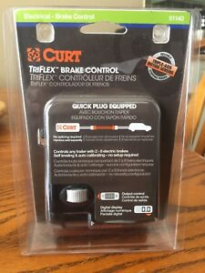 Curt TriFlex electric brake controller