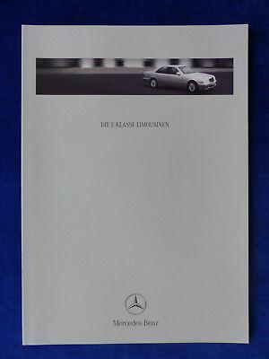 Mercedes-Benz E-Klasse Limousinen E 430 E55 AMG W210 Prospekt Brochure 05.2000