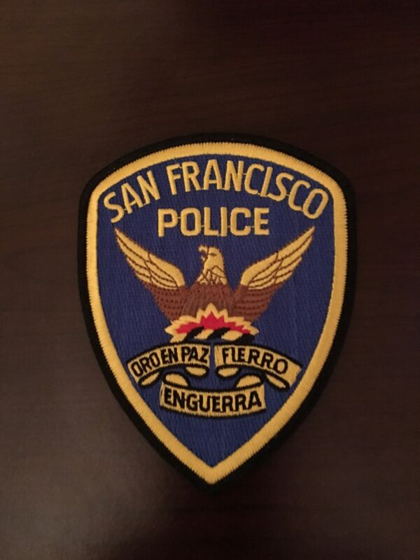 San Francisco Police Department Shoulder Patch