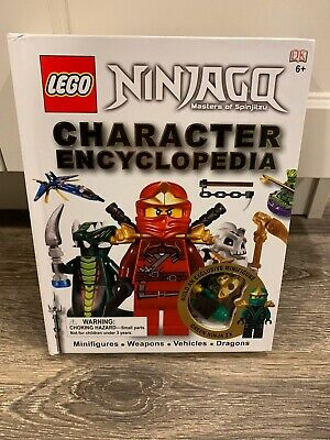 Lego Ninjago Character Encyclopedia with Zane ZX Figure Green Mini Figure Fig