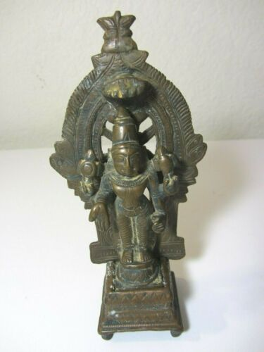 Rare Antique Shiva Bronze Statue