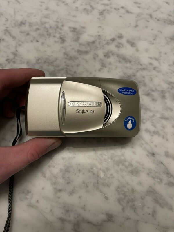 Olympus Stylus 105 Point and Shoot 35mm Film Camera All Weather