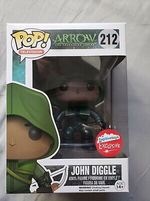 John Diggle - Fugitive Toys Exclusive DC Comics Arrow  #212 Funko Pop! Figure