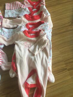 17 baby girls 00000 suits premmie or small baby