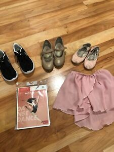 Dance shoes and accessories