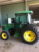 Tractor John Deere 5500N cab 4wd Agnes Banks Penrith Area Preview