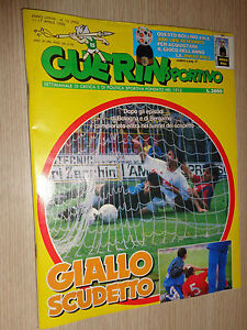 GUERIN-SPORTIVO-stagione-1989-1990-numero-15-ottimo-2-card-Adenalyne-Panini