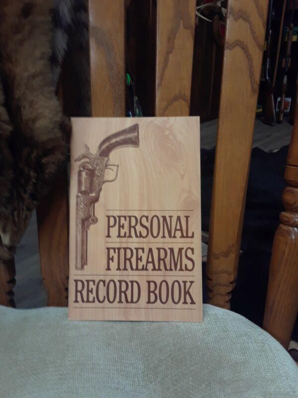 Personal Firearms record book William Hanus 1964