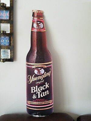 BIG YUENGLING CARDBOARD DOUBLE SIDED SIGN BEER ADVERTISING BAR MAN CAVE SIGN 36""