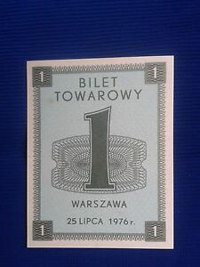 POLAND Communist - Tickets commodity and food stamps 25.VII.1976 - <span itemprop='availableAtOrFrom'>Skierbieszów, Polska</span> - POLAND Communist - Tickets commodity and food stamps 25.VII.1976 - Skierbieszów, Polska