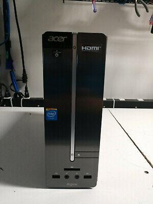ACER ASPIRE IX SLIM TOWER CELERON 1.99 GHZ 4GB 500GB WINDOWS 10 HOME
