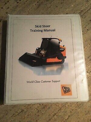 Jcb Skid Steer Training Manual Largesmall Platform Tier Iii Ssl Iv