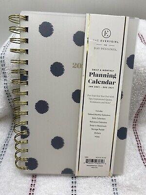 The Everygirl 2021 Planner Organizer Monthly Calendar Agenda Schedule Book New