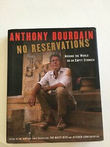 Signed copy of no reservations
