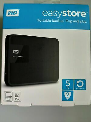 New! Sealed! Western Digital -WD-EasyStore 5TB External Drive - $169.99@Best Buy