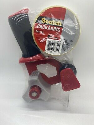 Scotch Dispenser Tape Gun And 1 Roll Of Tape For Shipping And Packaging New