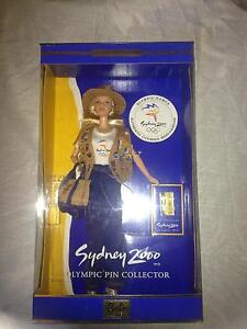 Sydney olympic pin Barbie Singleton Singleton Area Preview