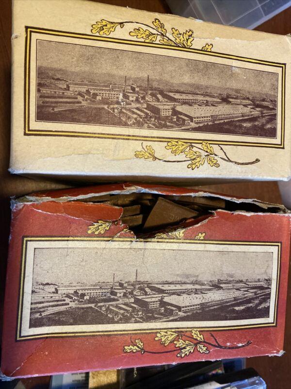 VINTAGE MID CENTURY TIOGA OAK SHOES TOP LIFTS WOAMNS X PRIME AND PRIME 2 BOXES