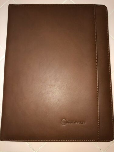 Cutter & Buck Leather Writing Pad Padfolio - Chestnut Brown