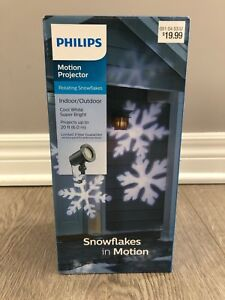 Philips Motion Projector rotating snowflakes