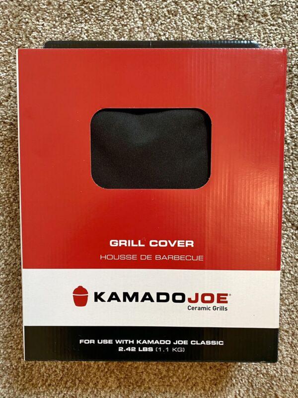 Kamado Joe Ceramic Classic Grill Cover, Waterproof, Black & Red GC23BWFS
