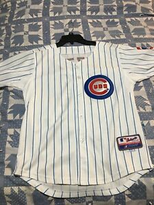 Anthony Rizzo Chicago Cubs Jersey Youth Size Large