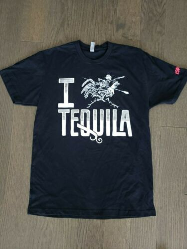 NEW! Espolon T Shirt - I Love Tequila - Day of the Dead - Medium