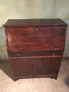 Bureau secrétaire antique