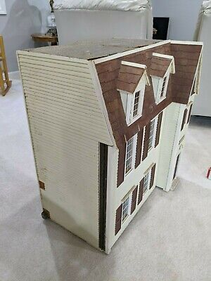 Doll House Hand Built with Furniture