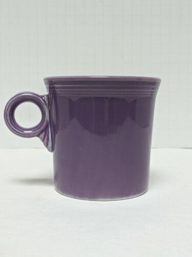 Fiesta Lilac Ring Handle Mug w/Noticeable Factory Inconsistencies Made in 1995